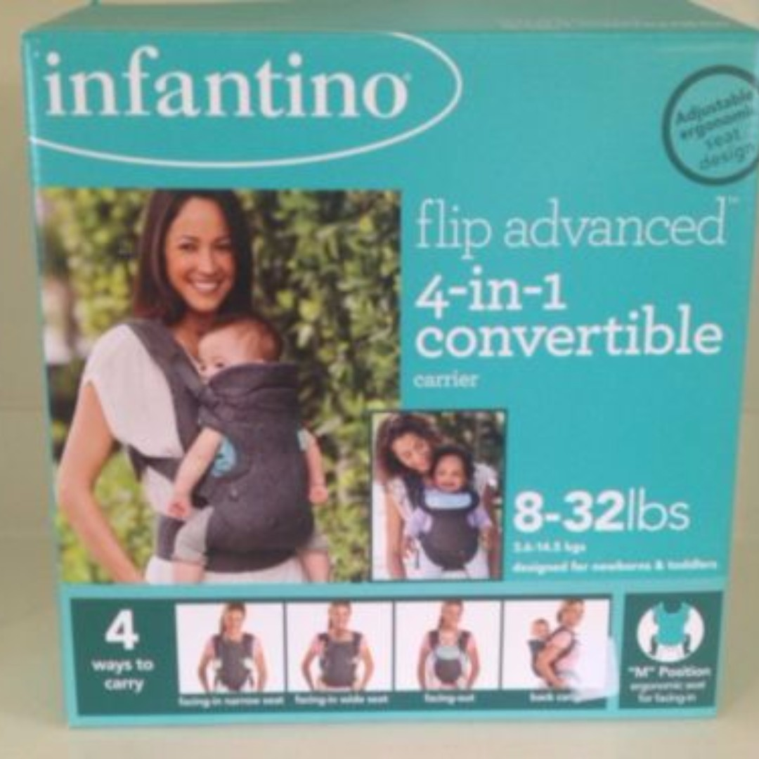 1121c66a389 Infantino Flip Advanced 4-in-1 Convertible Carrier