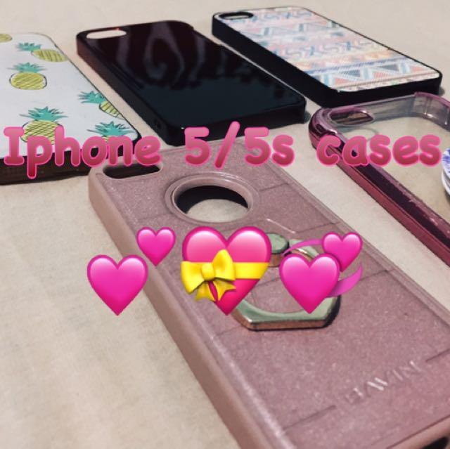 Iphone 5/5s Cases 📱