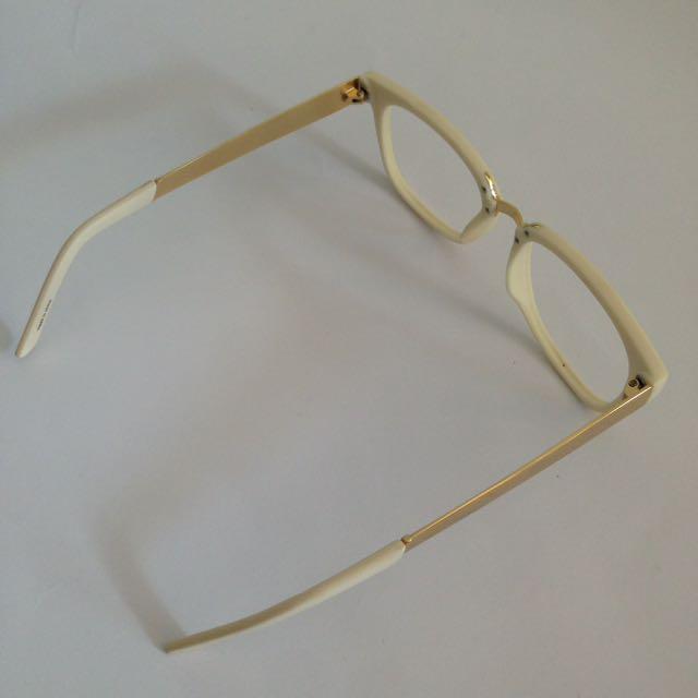 Ivory Gold Glasses