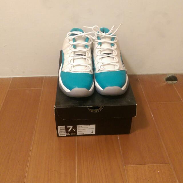 Jordan11 Tiffany綠