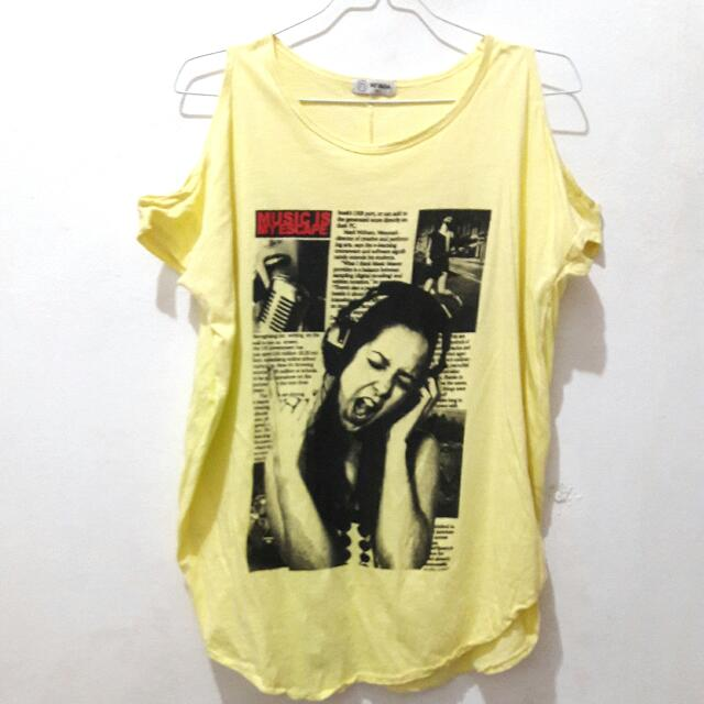 Kaos Wanita Nevada Size XL