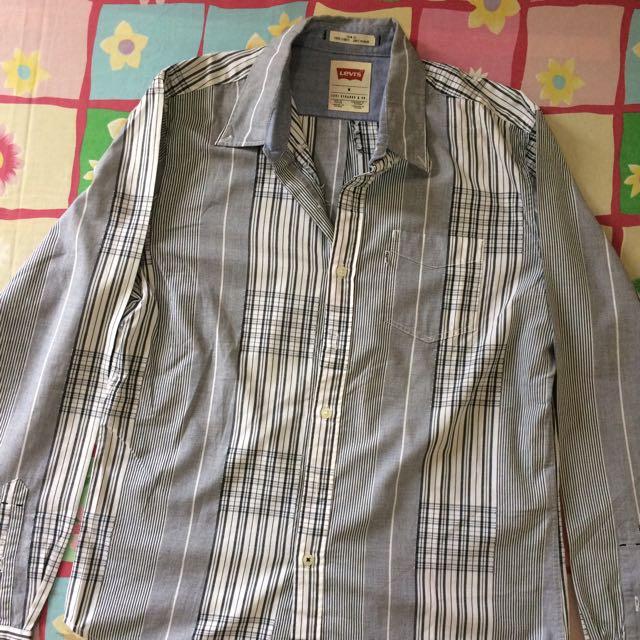 Kemeja Slim Fit Pria Levi's - Man Formal Shirt