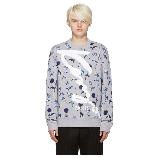 Kenzo floral print pullover
