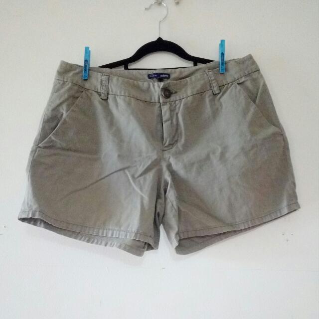 Khaki Shorts - Size 12