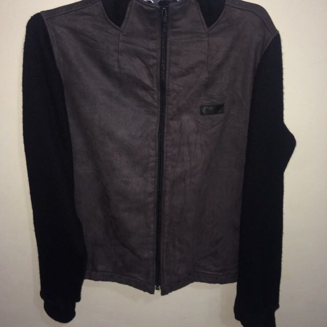 Kolwin Jacket Black and Grey Color