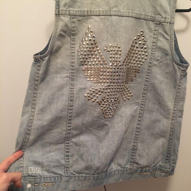 Ksubi Vest Size 6-8
