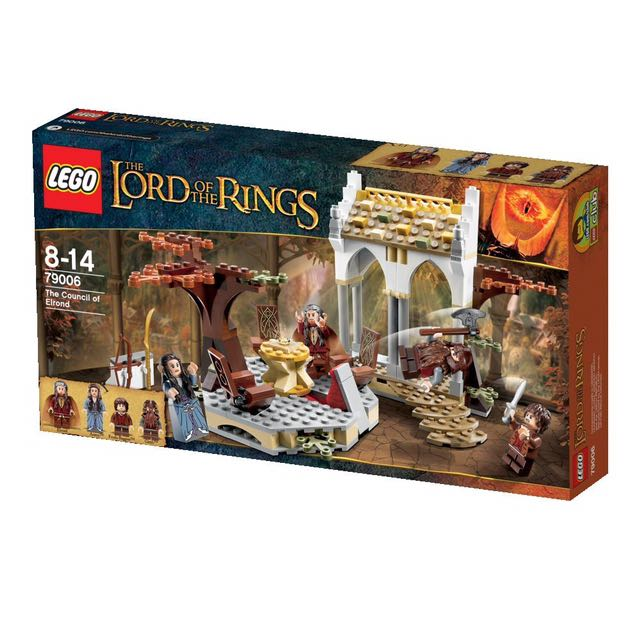 79006 Council of Elrond Rare New /& Sealed LEGO Lord of the Rings