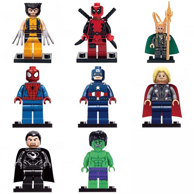 Lego Super Heroes 8 PCS
