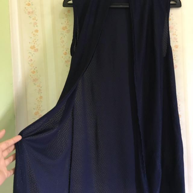 Long Bolero Dark Blue