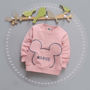 Long t shirt kaos panjang anak bayi baby and kids mickey