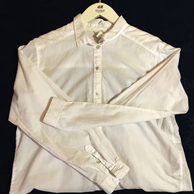 Lose Button Up Long Sleeves