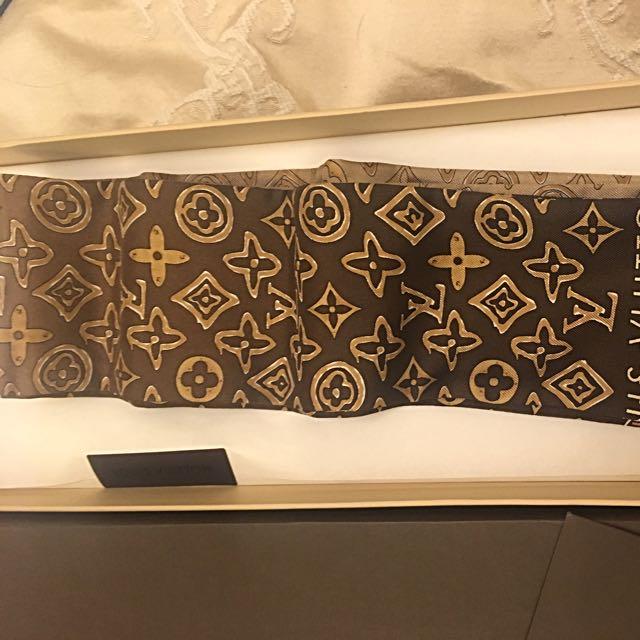 LV Scarf Tie