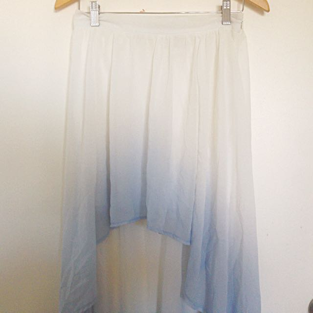 M - Pastel Gradient Skirt
