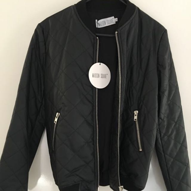 Madison Square Bomber Jacket