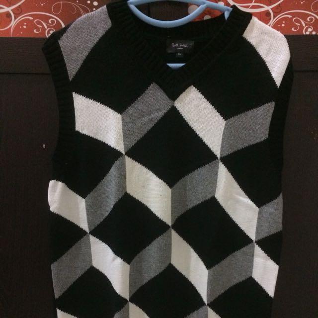 Man Sweater Sleeveless Paul Smith