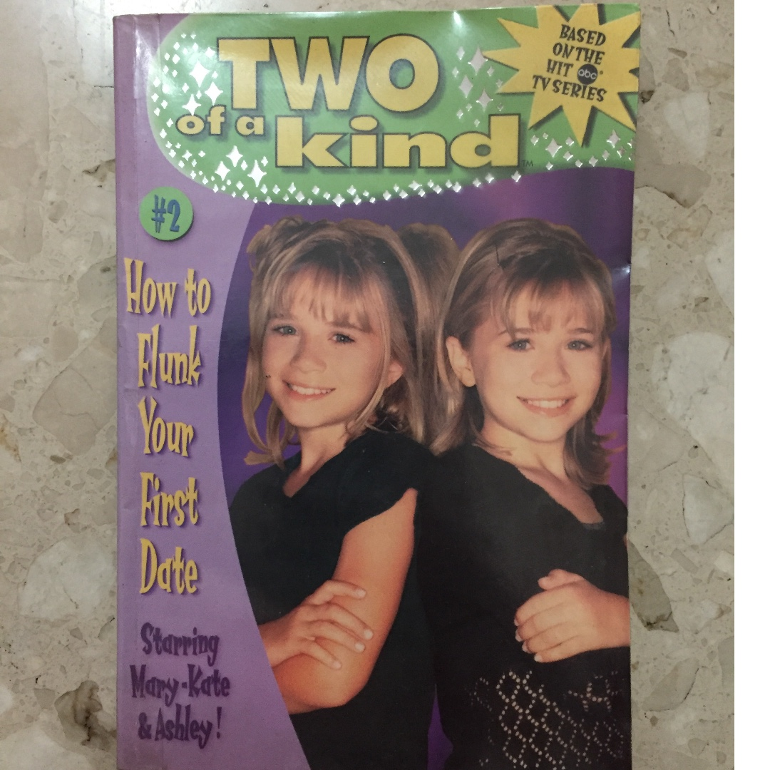 Mary kate and ashley olsen - two of a kind series
