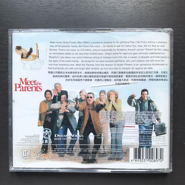 Meet The Parents VCD (Ben Stiller/Robert De Niro主演)