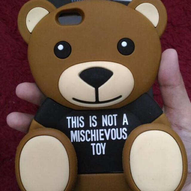 Moschino Teddy Bear Silicon Case Iphone6plus