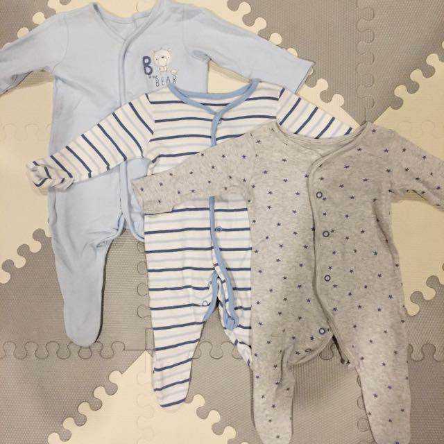 Mothercare 3-pack Pajamas