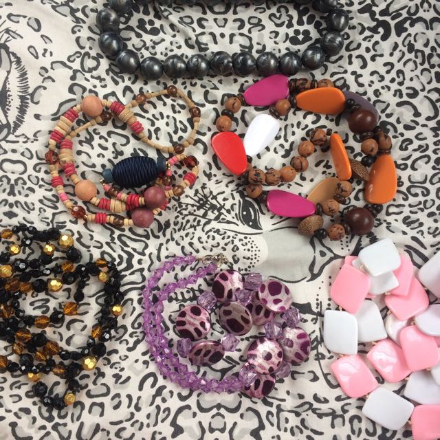 Necklaces (50Php Each & 250Php All)