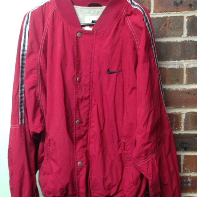 Nike Red Vintage Jacket
