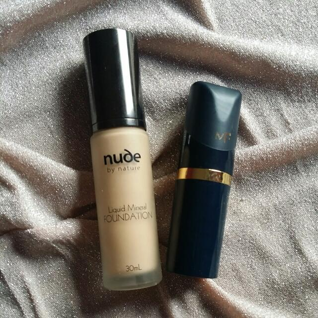 Nude And Max Factor Foundation
