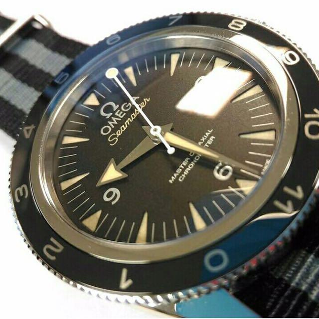 111a69fa22f Omega Seamaster 300 James Bond 007