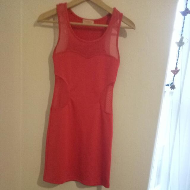Paint It Red Dress