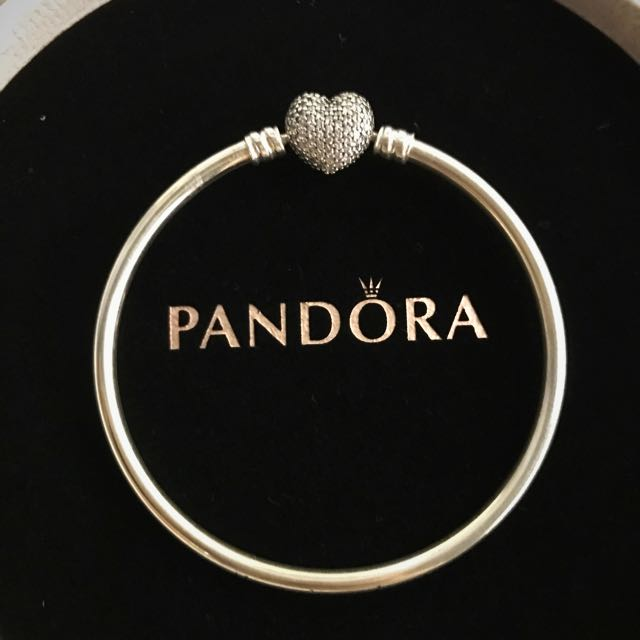 7c93e4915 Pandora Always In My Heart Bangle (Limited Edition), Luxury ...