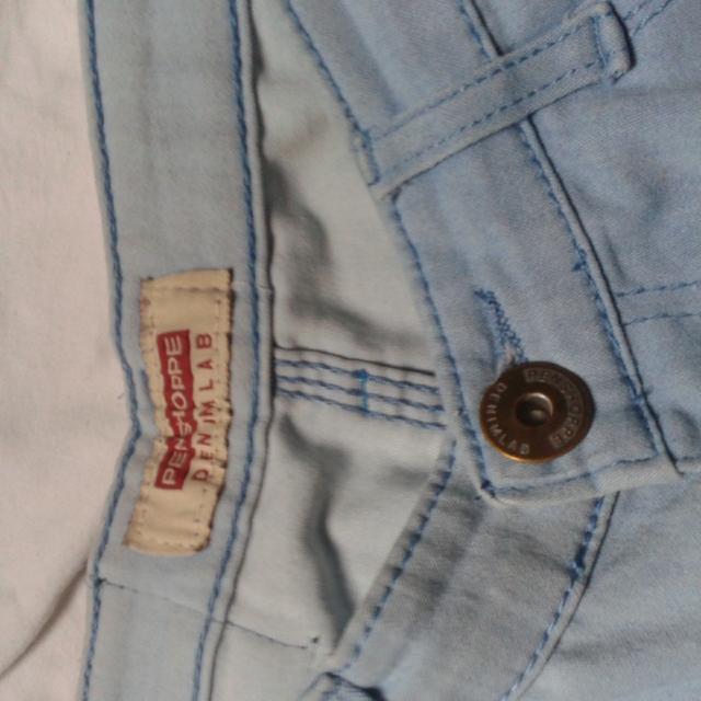 Penshoppe Denim Lab Acid Wash Tattered Jeans
