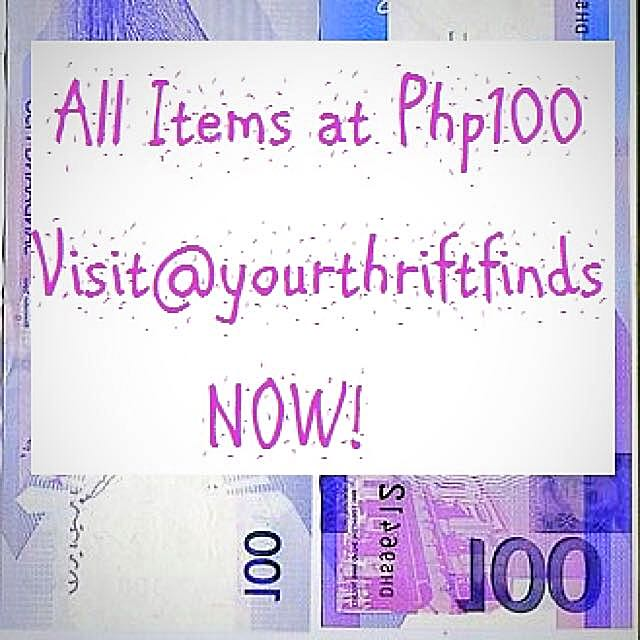Php100 SALE 🤗