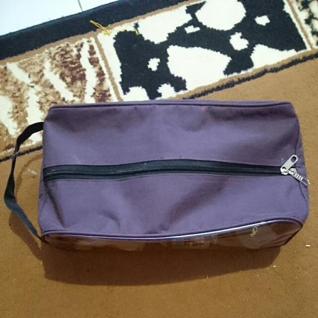 Pouch Makeup Bigsize Purple