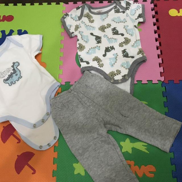 Preloved Baby Jumper Set Carter (0-3months)