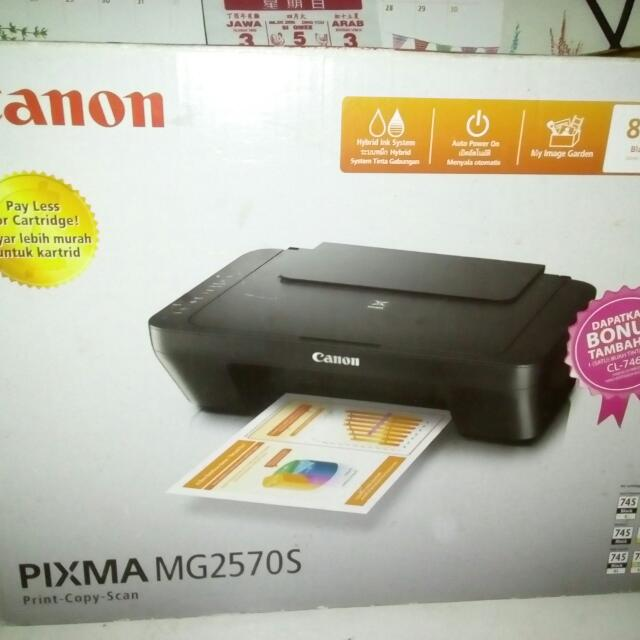 Printer Canon Pixma MG2570s Multifungsi