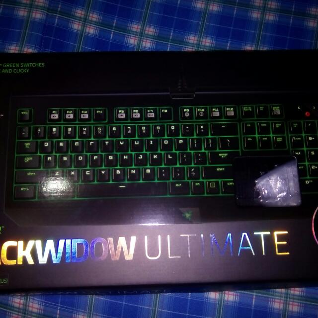 Razer Black Widow Ultimate Keyboared 2016 Edition For Pro. Gaming