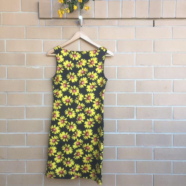 RETRO SUNFLOWER DRESS