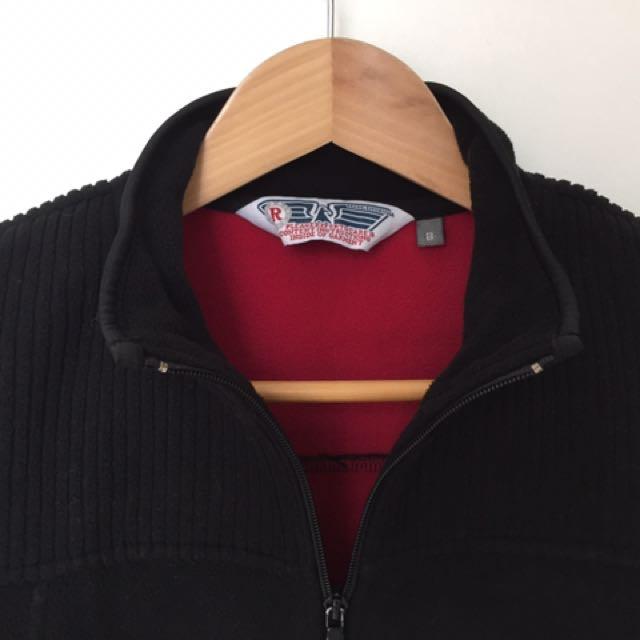 RIVERS Black Fleece Jacket