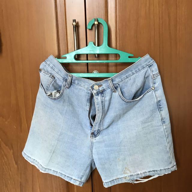 Short demin jeans