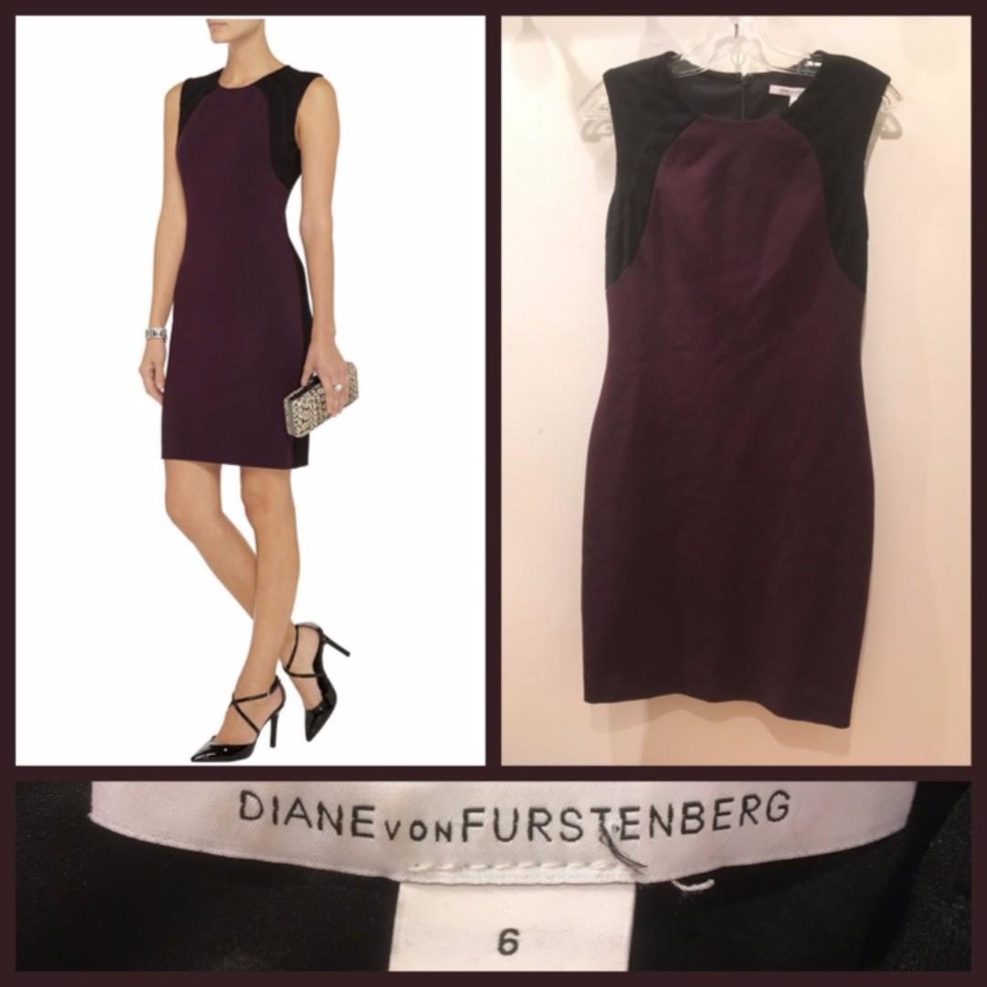 """Size 6 - Diane von Furstenberg """"Hallie"""" dress"""