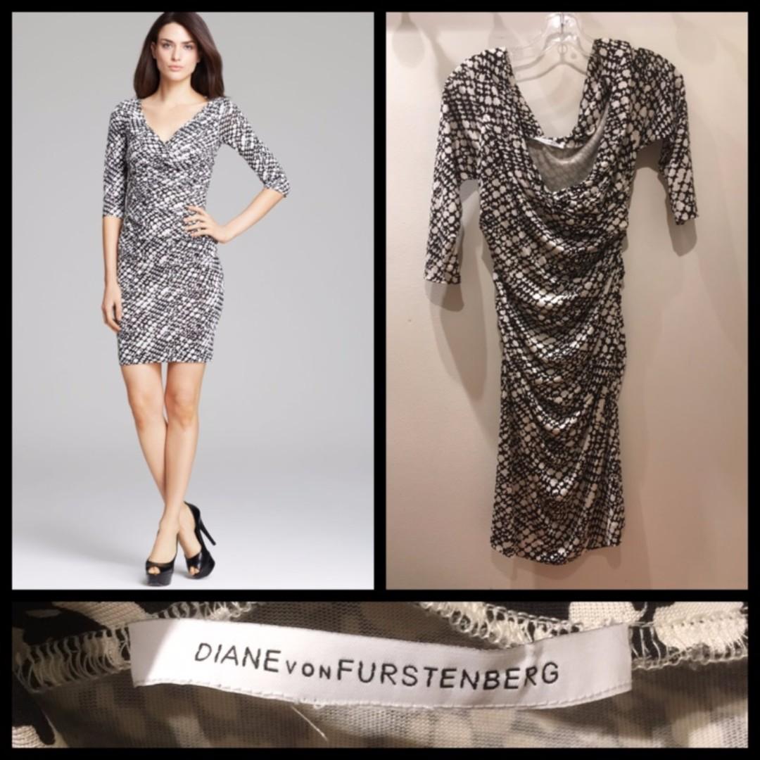 Size S - Diane von Furstenberg (DVF) 100% silk dress