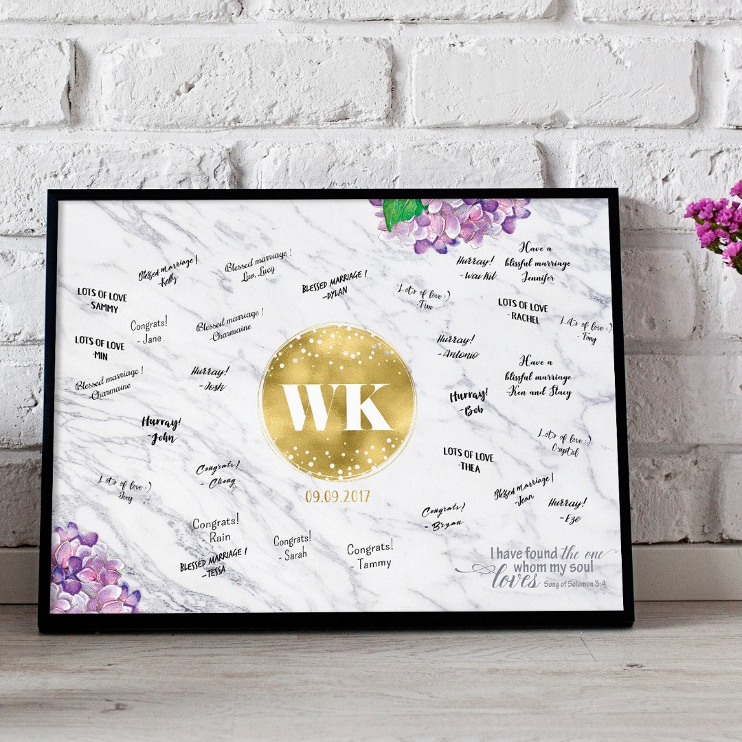 Somegoodwords Wedding Guest Book Alternative Wedding Sign Wedding