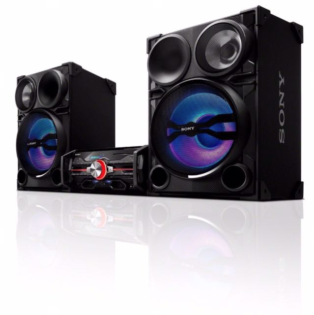 SONY DJ SHAKE HIGH POWER 2000W SOUND SYSTEM LBT-SH2000