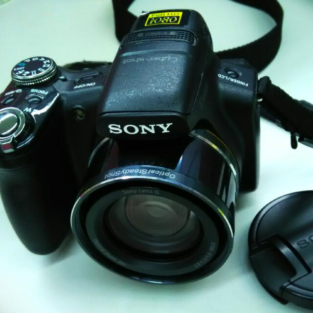 SONY-DSC-HX1 類單眼相機(保存良好) 附原廠充電器、原廠電池、8G記憶卡、轉接卡、原廠相機包