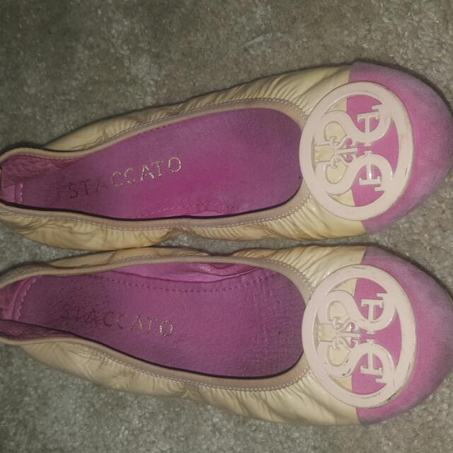 staccato ballet flats