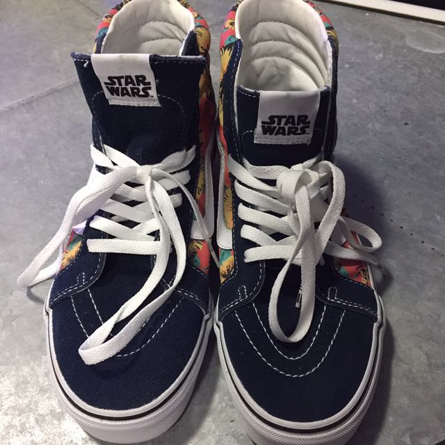 Star Wars X Vans Sk8-hi Yoda Aloha Skate Shoes
