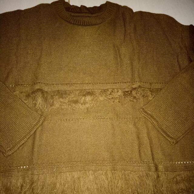 Sweter Rajut Coklat