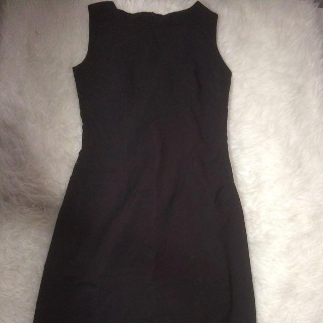 The Executive Black Dress