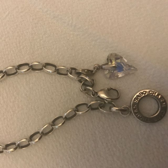 Thomas Sabo Charm Carrier Bracelet With One Chain