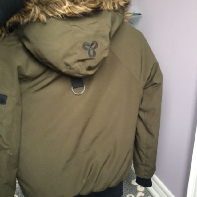 TNA Olive Winter Jacket