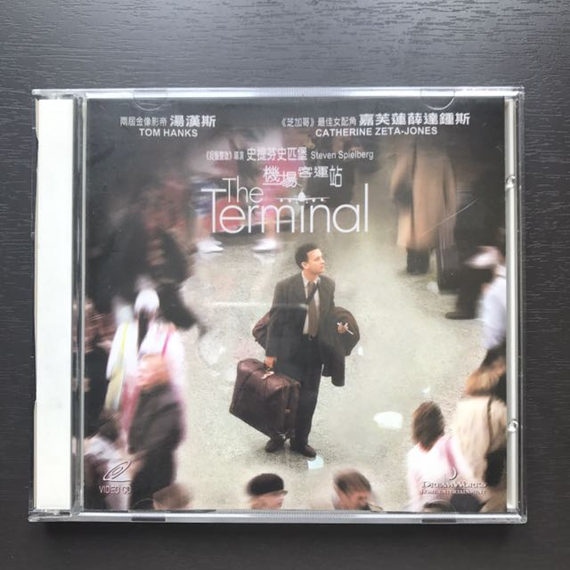 Tom Hanks 湯漢斯VCD - Terminal/ Catch Me If You Can